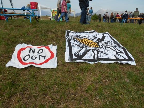 Arba 06 aprile 2014, Vivaro, contro le semine OGM